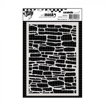Carabelle - Masque - Mur en pierres