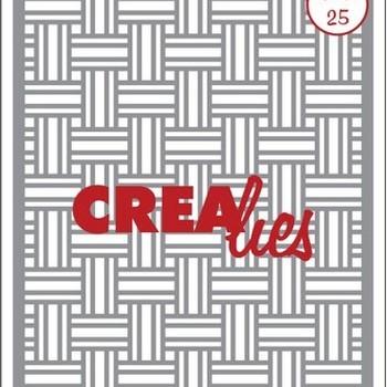 Crealies Masks & More (25) - Vlechtwerk