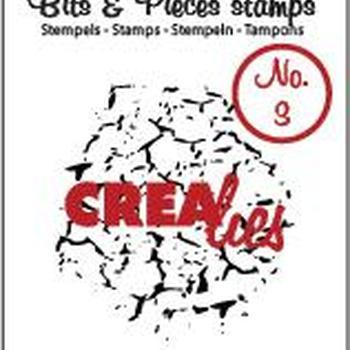 Crealies Clearstamp Bits & Pieces (03) - Crackle