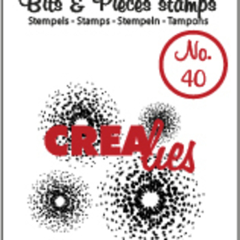 Crealies Clearstamp Bits & Pieces (40)