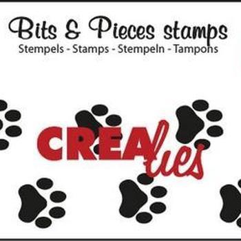 Crealies Clearstamp Bits & Pieces (73) - Pootjes
