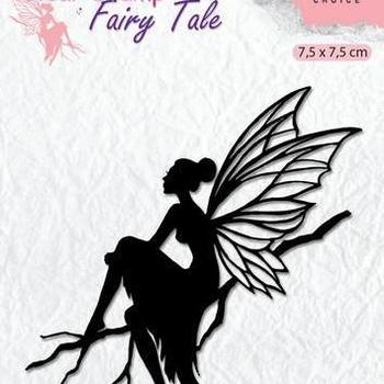 Nellie's Choice clearstamp Silhouette - Fairy Tale (6)