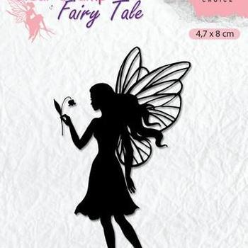 Nellie's Choice clearstamp Silhouette - Fairy Tale (7)