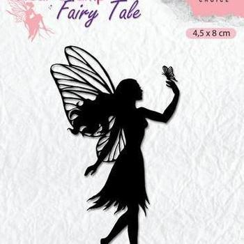 Nellie's Choice clearstamp Silhouette - Fairy Tale (8)