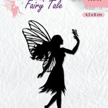 Nellie's Choice clearstamp Silhouette - Fairy Tale (8)