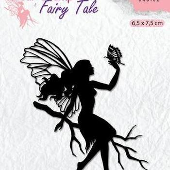 Nellie's Choice clearstamp Silhouette - Fairy Tale (9)