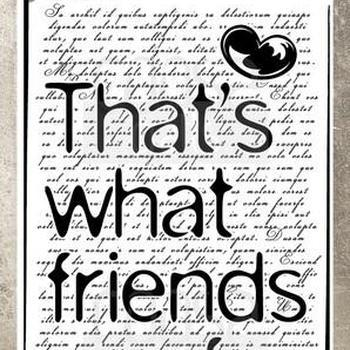 COOSA Crafts Clearstamp - Friends (GB)
