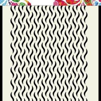 Mask Art - Floral waves