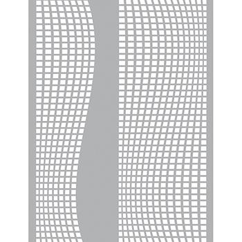 Pronty Mask stencil - Square waves A4