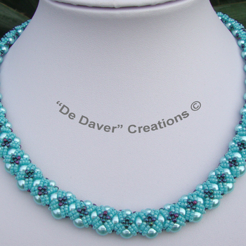 Collier Stardust - Turquoise
