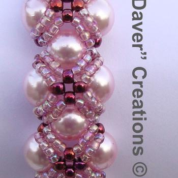 Armband Stardust - Orchidee
