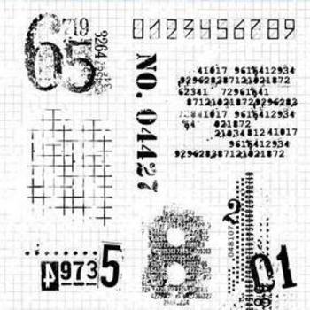 StudioLight Grunge - Clearstempel - nr.340