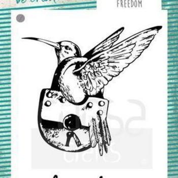 COOSA Crafts Clearstamp - Freedom