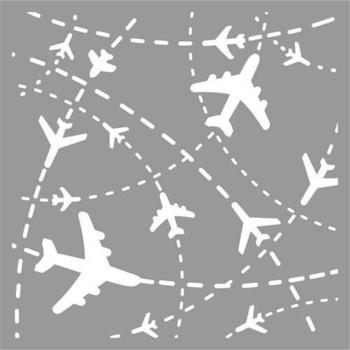 Pronty Mask stencil - Flightplan