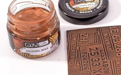 COOSA Crafts - Gilding wax - Brons