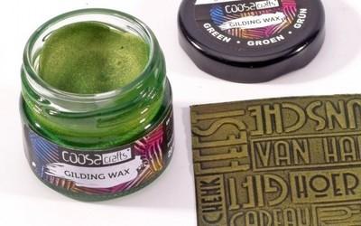 COOSA Crafts - Gilding wax - Groen