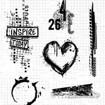 StudioLight Grunge - Clearstempel - nr.363