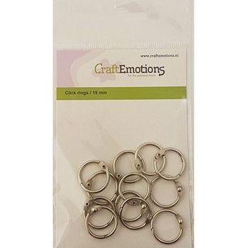 boekbinders-ringen zilver 19mm