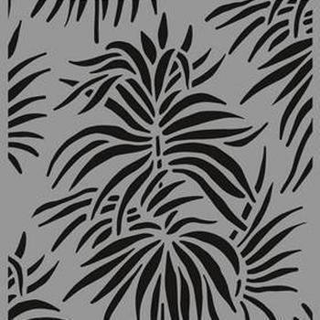 CraftEmotions - Mask stencil - Achtergrond bladeren tropen