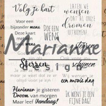 MD - Droom teksten (NL)