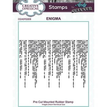 Rubber stamp - Enigma