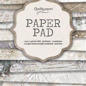 Studiolight Paper pad (122) - Kerst - Beige