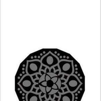 Pronty Foam stamp - Mandala 1