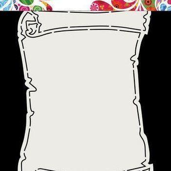 Card Art Fold - Schatkaart