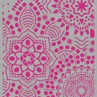 Pronty - Mask stencil - Mandala background