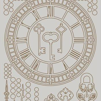 Pronty Chipboard - Clocks