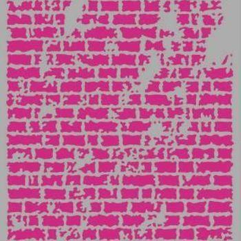 Pronty Mask stencil - Bricks