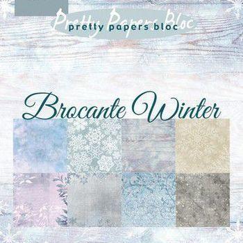 MD - Paper pad - Brocante winter