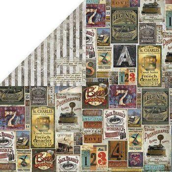 Craft & You - Vintage Man (labels)
