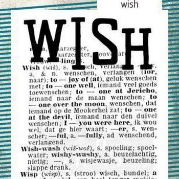 COOSA Crafts Clearstamp - Wish