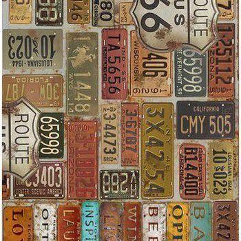 Cadence - Rijstpapier - Kentekenplaten USA