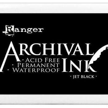 Archival Ink pad - Jumbo - Jet black