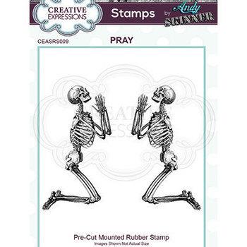 Rubber stamp - Pray