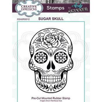 Rubber stamp - Skull