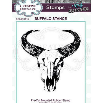 Rubber stamp - Buffalo Stance