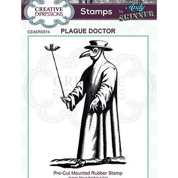Rubber stamp - Plague doctor