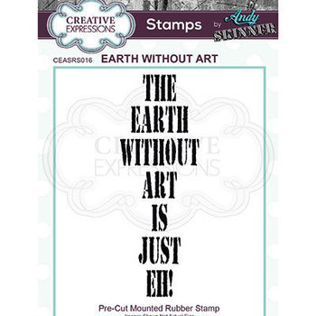 Rubber stamp - Earth without art