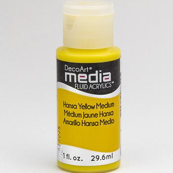 Mixed Media Acryl - Hansa Yellow Medium (50)