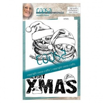 *COOSA Crafts Clearstamp - Xmas