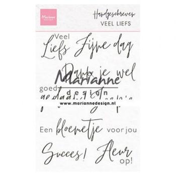 MD - Handgeschreven - Veel liefs