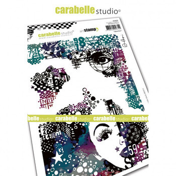 Carabelle - Cling stamp - Sketches