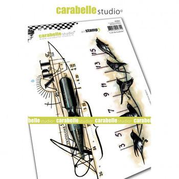 Carabelle - Cling stamp - l'Art de la plume