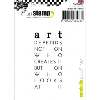 Carabelle - Cling stamp - l'Art
