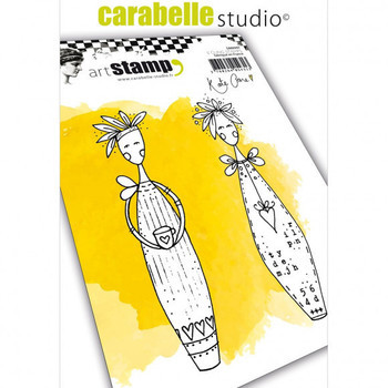 Carabelle - Cling stamp - Lolly dolly