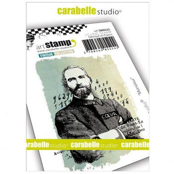 Carabelle - Cling stamp - Monsieur
