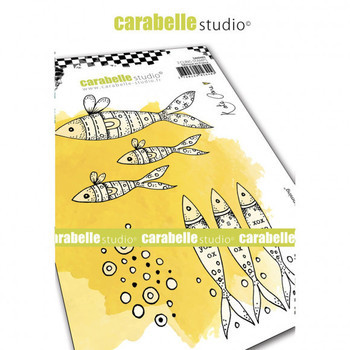 Carabelle - Cling stamp - Keep swimming